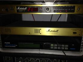 marshall jmp-1 all valve pre amp sounds amazing, with power lead and manual PRICE REDUCED!!
