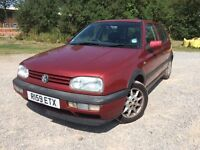 VW golf GTI 2.0 petrol £295