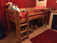 Kids Flexa pine bedroom furniture set