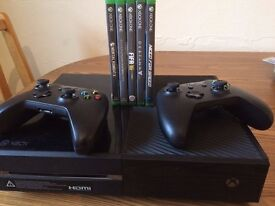 Sell Xbox One 500GB/2 Wireless Controllers/5 Games 250£