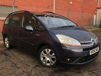 Citroen C4 Grand Picasso 1.6hdi, low mileage, diesel 7 seater