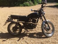 2015 Sinnis Scrambler 125 with many mods. Tracker, brat, cafe racer. Low milage