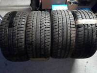 4 Winter Khumo tyres!!! Used once!!