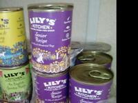 Lillys kitchen dog food 50 tins
