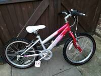 GIRLS BIKE RALEIGH KRUSH
