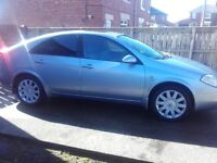 2004 NISSAN PRIMERA 2.2 DCI T SPEC 6 SPEED,TESTED TILL AUGUST 2017