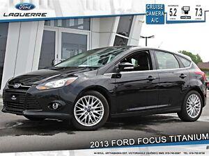 2013 Ford Focus **TITANIUM*CRUISE*CAMERA*A/C 2 ZONES**