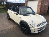 2007 Mini Cooper convertible cheery pack top spec low mileage service history