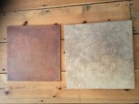 10 + 13 Floor / Wall Tiles - good condition, never used