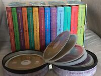 Complete collection of A Series of Unfortunate Events by Lemony Snicket. Unabridged audio books.