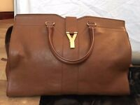 Authentic Large YSL Cabas Chyc (Chestnut) - preloved
