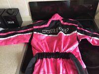 Kids Pink Motorbike/Quad Suit