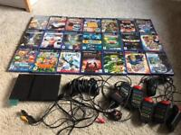 Ps2 Sony PlayStation 2 Slim Console & Games