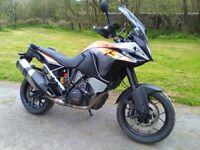 KTM 1050 Adventure part exchange for BMW Ducati Honda Suzuki Triumph Moto Guzzi or similar