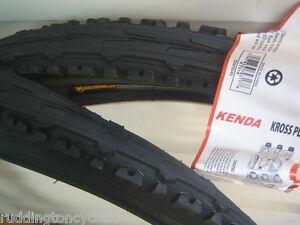 2 X 26 X 1.95 Kenda tyres Semi Slick Puncture Resistant / Protect K Shield