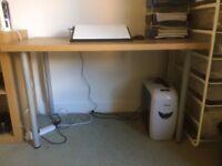 Table (IKEA - ADILS/LINNMON - Oak Effect)