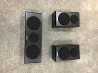 Yamaha Centre and Surround Speakers