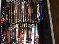 lots of dvds cds