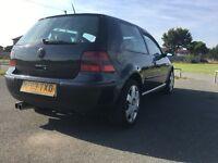 VW GOLF 1.4 E 2003 black