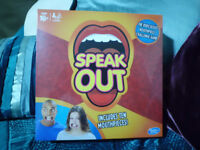 Hasbro Speak Out board game unopened