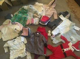 Bundle of baby girls clothes, 6-9 months
