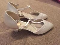 Pink Paradox (kitten) Wedding shoes size 8/ 41