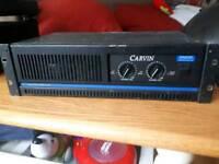 Carvin 2000watt power amplifier