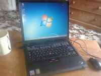 """LAPTOP IBM REFURBISHED,FREE DELIVERY, 15"""",WIRELESS WIFI NET.DVDRW,1GB .WINDOWS 7/OFFICE 2010,CHARGER"""