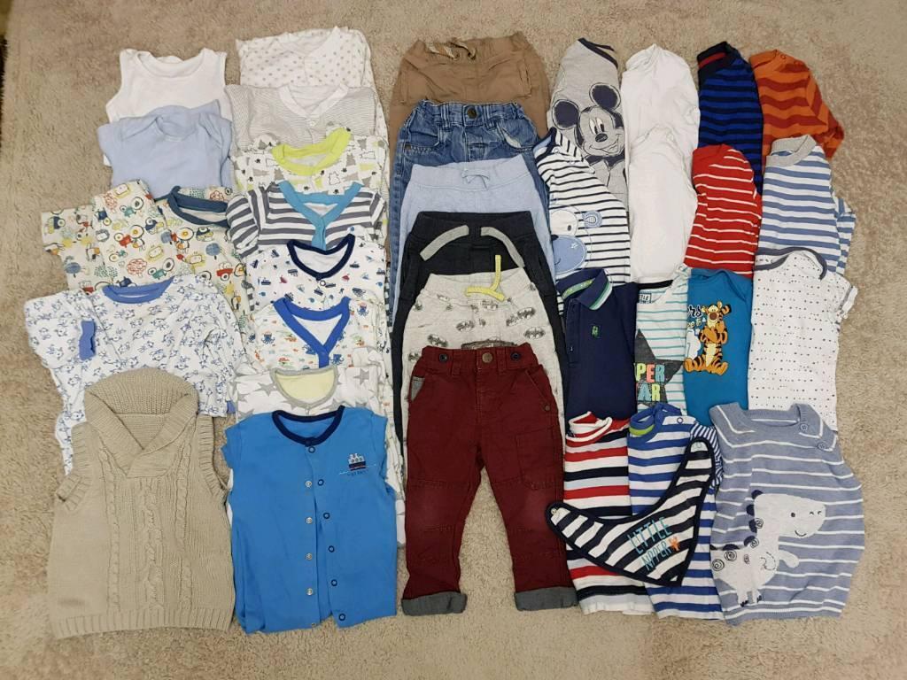 Boys 9-12 months bundle