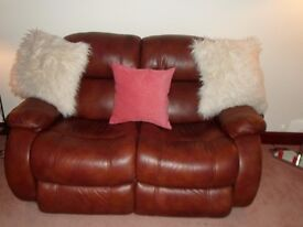 Sofa( 2 seater) and 1 armchair