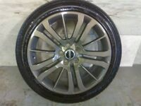 ALLOYS X 4 OF 20 INCH GENUINE RANGEROVER FULLY POWDERCOATED INA STUNNING ANTHRACITE VERY NICE ALLOYS