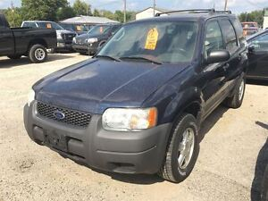 2004 Ford Escape CALL 519 485 6050 CERT AND E TESTED