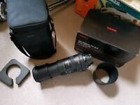 Nikon fit Sigma 150-500 Lens