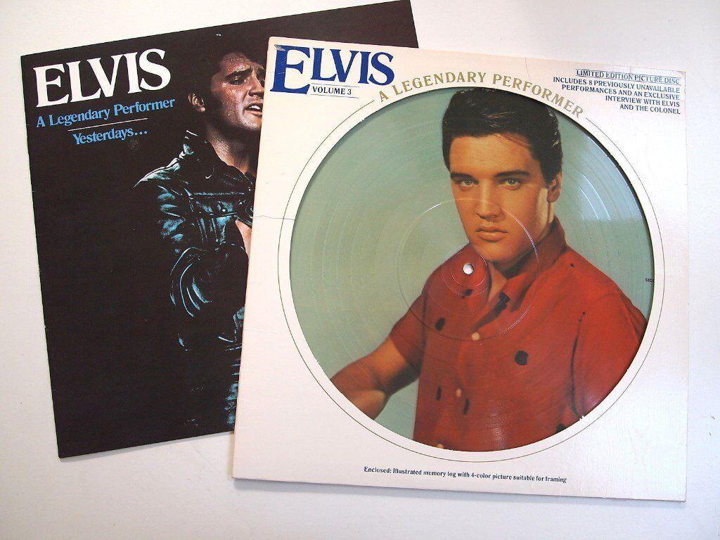 ELVIS PRESLEY LP - LIMITED EDITION PICTURE DISC ALBUM