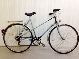 Raleigh 10 speed lightweight French style Misty Frame