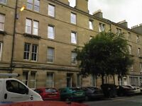 1 bedroom fully furnished top floor flat to rent on Albert Street , leith, Edinburgh