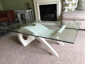 Coffee Table and Lamp/Side Table pair