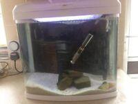 Fish tank 28l aquarium full set up