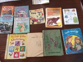 Vintage Children's books for scrap or craft