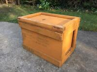 Vintage Storage Box Toolbox Toy Box