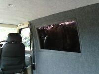 VW transporter t4 carpeted side window trims (free fitting)