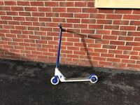 JD Bug Pro Kids Scooter, Childrens Push Stunt Scooter - Blue