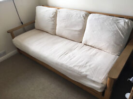 Futon Company - 3 Seater Sofabed (and spare cover)