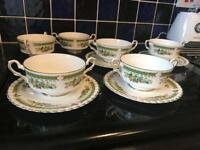 Royal Stafford bone China Dovedale