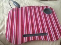 Laptop cushion tray
