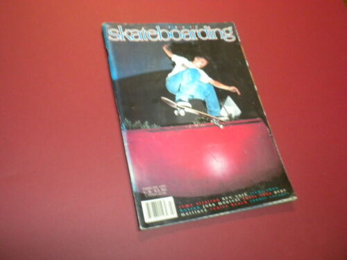 TRANSWORLD SKATEBOARDING magazine 1995 February SKATEBOARD