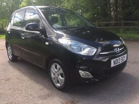Hyundai I10 2013 51000 miles Parking Sensors Electric windows and mirrors