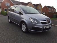 2007 Vauxhall Zafira 1.6 Petrol 7 seater Low Miles excellent condiition