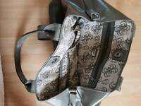 leather brand Guess bag