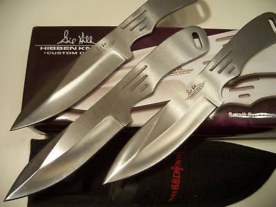 "HIBBEN - 7"" THROWING KNIVES - 3 pc. SET - Generation 2 Gil Pro Thrower GH-2005"